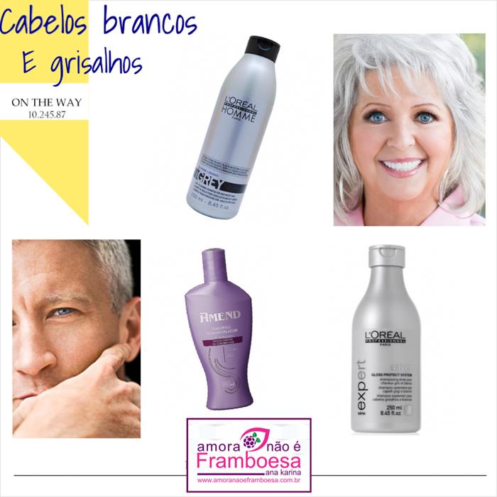 Como manter bem tratados os cabelos brancos e grisalhos