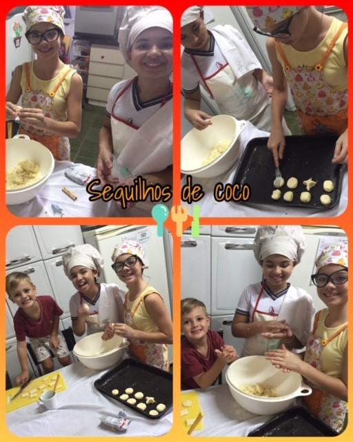 Crianças na cozinha